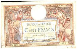Billets > France >100 Francs 1933 - 1871-1952 Antiguos Francos Circulantes En El XX Siglo