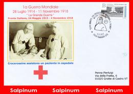 ANNULLO GRANDE GUERRA MOSTRA CROCEROSSA - 1946-.. Republiek