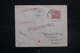 POLOGNE - Enveloppe De Lodz En 1927 Pour Lwow , Affranchissement Plaisant - L 27111 - 1919-1939 Republik