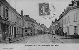 SAINT ANDRE DE L'EURE - Rue Grande (côté Nord) - France