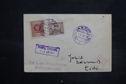 POLOGNE - Enveloppe De Warszaw En 1926 Pour Lodz Par Avion , Affranchissement Plaisant - L 27112 - 1919-1939 Republik