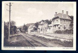 Cpa Du 19  Saint Sylvain -- Entrée Du Bourg --- Canton Argentat Arrd. Tulle      CC4 - Frankreich