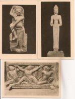 Ldiv_417c - Vietnam - Musée Cham De Tourane - Lot De 3 Cartes - N° 5, 13 Et 19 - Vietnam
