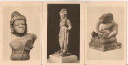 Ldiv_417d - Vietnam - Musée Cham De Tourane - Lot De 3 Cartes - N° 1, 4 Et 6 - Vietnam