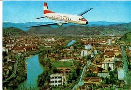 AUSTRIAN AIRLINES - Hawker Siddeley HS.748 über Graz - 1946-....: Moderne