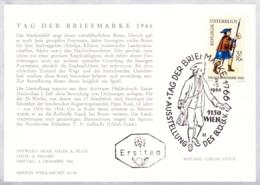 1966 TdB 1966 Briefbote Um 1500 FDC Karte (ANK 1259, Mi 1229) - FDC
