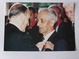 CPM - GOULOUX - Décoration De M. C. Marchand Par F. Mitterrand 1993 - Autres Communes
