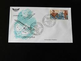 JOURNEE DE L'AEROPHILATELIE - MARCQ EN BAREUIL -  1970  - - Postmark Collection (Covers)