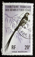 1975 AFARS ET ISSAS . YT 410 .Pin-tailed Wydah (Vidua Macroura) - Afar- Und Issa-Territorium (1967-1977)