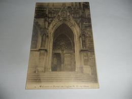Walcourt Portail De L'église N.D Au Cloux - Walcourt