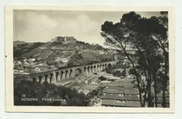 MESSINA - PONTE CAMARO  1933   VIAGGIATA FP - Messina