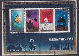 Samoa BF N° 5  XX Noël, Le Bloc Sans Charnière, TB - Samoa