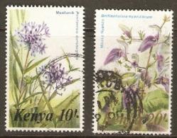 Kenya 1983 SG  269-70  Flora   Fine Used - Kenya (1963-...)