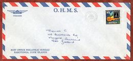 Luftpost, Zeapex,  Avarua Cook Islands Nach Auckland 1980 (71769) - Cookinseln