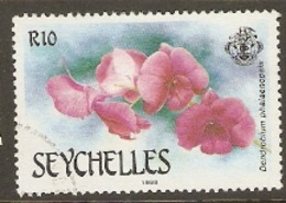 Seychelles  1988  SG 716  Orchids  Fine Used - Seychelles (1976-...)