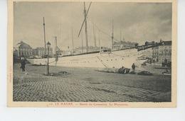 """BATEAUX - PAQUEBOTS - LE HAVRE - Bassin De L'Eure : """"LE MAROUSSIA """" - Steamers"""