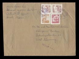 KOREA. 1960 (7 March). Several - West Germany. Air Multifkd Env. VF Cond. - Corea (...-1945)