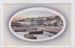 WEST BEACH, QUEENSTOWN. COLEMAN PUB.. VINTAGE LANDSCAPE CPA CIRCA 1930s  - BLEUP - Nuova Zelanda