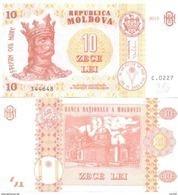 2017. Moldova, 10Leu/2015, P-10, UNC - Moldova