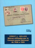 Marcas Utilizadas Por La Censura Postal Nacional De 1936 A 1945. - Spanje