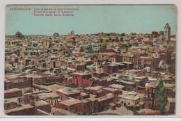 Jerusalem Vue Prise De La Tour D'Antonia - Israele