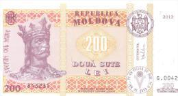 2013. Moldova, 200L/2013, UNC - Moldova