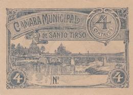 PORTUGAL SANTO TIRSO - CÉDULA De 4 CENTAVOS  - EMERGENCY PAPER MONEY - Andere