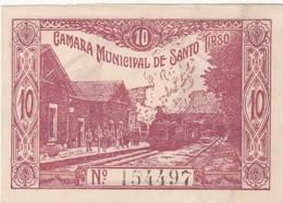 PORTUGAL SANTO TIRSO - CÉDULA De 10 CENTAVOS  - EMERGENCY PAPER MONEY - Bankbiljetten