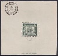 BLOC OBLITERE DE BELGIQUE - EXPOSITION PHILATELIQUE D'ANVERS N° Y&T 2 - FRAIS DE PORT OFFERTS - Blocs 1924-1960