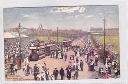 SOUTHSEA. PIER ROAD AND VICTORIA BARRACKS. RAPHAEL TUCK & SONS. VINTAGE LANDSCAPE CPA CIRCA 1900s  - BLEUP - Portsmouth