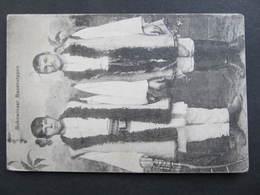 AK CZERNOWITZ Bukowina Bauerntypen Tracht Costumi 1916 Feldpost  ///  D*37320 - Ukraine