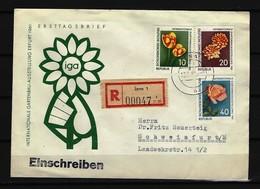 DDR - RECO-Beleg Mi-Nr. 854 - 856 Mit Ersttags-Tagesstempel JENA - DDR