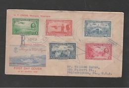 Nicaragua - 31 3 1939 Fdc Willy Rogers - Viaggiata- - Nicaragua