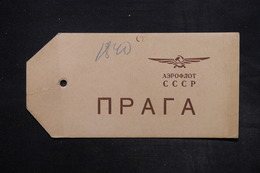 U.R.S.S. - Etiquette De Colis Par Avion - L 27143 - Lettres & Documents