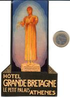 ETIQUETA DE HOTEL  - HOTEL GRANDE BRETAGNE  -ATHENES  -GRECIA - Hotel Labels
