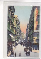 NAPOLI. VIA ROMA GIA TOLEDO. ED CONTINI VINTAGE LANDSCAPE CPA CIRCA 1900s  - BLEUP - Napoli