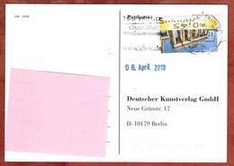 Karte, Brandenburger Tor, MS Christoffel Blindenmission Briefzentrum 14, Nach Berlin 2010 (71792) - BRD