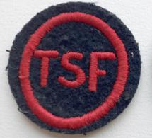TSF RADIO RADIOTELEGRAPHISTE Insigne Tissu De Spécialité MARINE - Marine