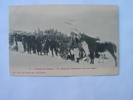 RI - CHASSEUR ALPINS - Manoeuvres Alpines - Un Régiment D' Infanterie Dans Les Neiges . Gap , Cliché Reveillet. - Gap