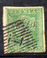 APR43 - INDIA INGLESE 1854 , Yvert N. 4  Usato  (2380A) . - India (...-1947)
