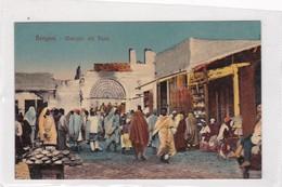 BENGASI. MERCATO DEL PANE. VINTAGE LANDSCAPE CPA CIRCA 1900s - BLEUP - Libia