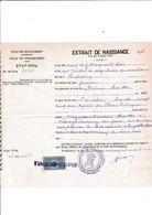 Timbre Fiscal Copie Etat De Pondichery - Errors, Freaks & Oddities (EFO)