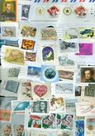 18 Kilo TEMBRES DU MONDE SUR PETIT PAPIER * 18 KILO STAMPS WORLDWIDE ON PAPER (29) - Stamps