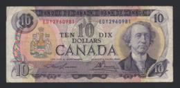 Banconota Canada - 10 Dollars 1971 - Canada