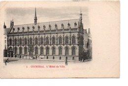 5. COURTRAI. L' HOTEL DE VILLE. - Kortrijk