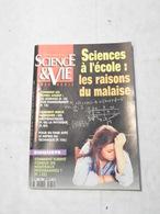 SCIENCE ET VIE HS N°180 DE SEPTEMBRE 1992 SCIENCES A L ECOLE LES RAISONS DU MALAISE - Science