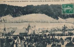 I102 - 38 - MONESTIER-DE-CLERMONT - Isère - Le Concours De Ski - Sonstige Gemeinden