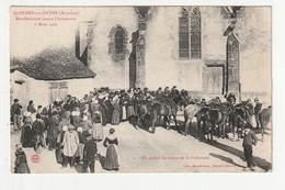 SAINT PIERRE SUR ORTHE - MANIFESTATION CONTRE L'INVENTAIRE 6 MARS 1906 - 53 - France