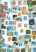 10  KILO TEMBRES ROYAUME-UNI SUR PETIT PAPER DE CHARITY - Postzegels