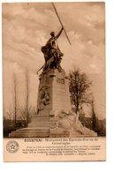 COURTRAI. MONUMENT DES EPERONS D' OR OU DE GROENINGHE. - Kortrijk